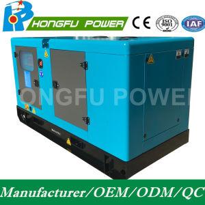 A corrente em standby 88kw/110 kVA gerador diesel super silencioso com motor Cummins com profundidade