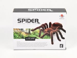 R/C Spider animal asustadizo de juguetes Toy Hallowmas juguete (cutesunlight)