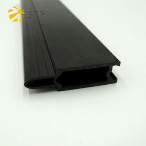 Espulsione di plastica di profilo del PVC nero della decorazione e della costruzione