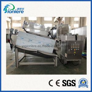 Лопаточное пространство высокоэффективные автоматический тип осадка сточных вод обезвоживания и сушки экструдера