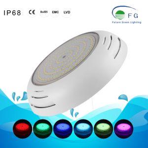 Поверхностного 8W 12W 18W RGB теплый белый светодиод Swmming бассейн подводного освещения