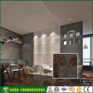 Slijtvaste Witte Grijze Ceramische Opgepoetste Tegel voor de Hal van het Hotel