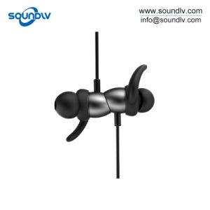 無線Bluetoothはマイクロフォンが付いているステレオのコンピュータのヘッドセットEarbudsを遊ばす