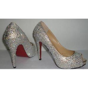 Nuevo estilo Diamond Tacón Alto sandalias de mujer sexy