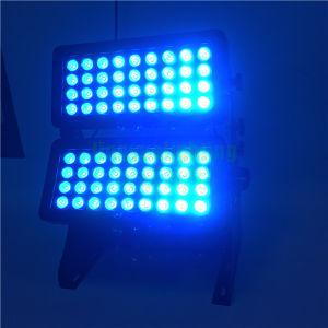 屋外DMXの壁の洗濯機72PCS 10W LED Citycolorライト