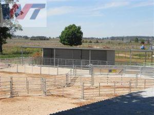 Rete fissa galvanizzata tuffata calda dell'azienda agricola di bestiame/comitati del Corral/cancello usati dell'azienda agricola