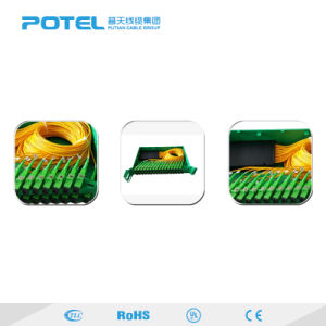 Tipo Casette Mini de 1 a 64 PLC Splitter de fibra óptica