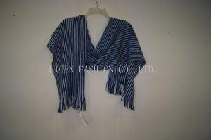 De unisex- Sjaal van de Angora van het Mengsel van de Winter van de Herfst Warme Streep van de Kwaliteit