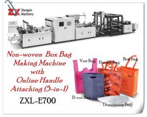 2019 Venda Quente Non-Woven Ambiental lidar com máquinas de fabrico de saco plana