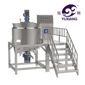 液体石鹸を作るためのアジテータホモジェナイザーの混合機械が付いているJacketed混合のやかん