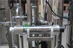 Stabilimento di trasformazione dell'acqua salata dell'acciaio inossidabile con il sistema del RO