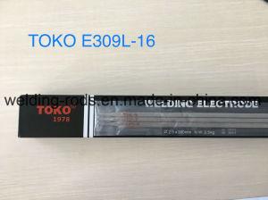 Toko超低いカーボンステンレス鋼のAws E308-16溶接棒