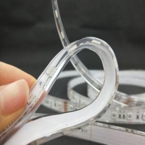 Indicatore luminoso di striscia flessibile trasparente di Istruzione Autodidattica 90 LED di RGB SMD5050 della striscia dell'unità di elaborazione LED del &RoHS del Ce