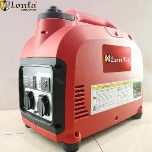 0.8kw, 1kw 2kw de Stille Digitale Generator van de Omschakelaar van de Benzine van de Benzine