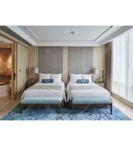Het moderne Houten Meubilair van de Slaapkamer van het Hotel van het Meubilair van het Tweepersoonsbed Vastgestelde Eiken (DL 07)