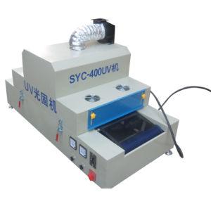 Syc-400 Mesa Lámpara UV de curado de la máquina para serigrafía