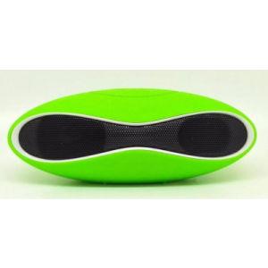 Mini HiFi sem Fios Bluetooth portátil Ancoragem Music Player de áudio Altifalante de Esfera de Rugby do subwoofer