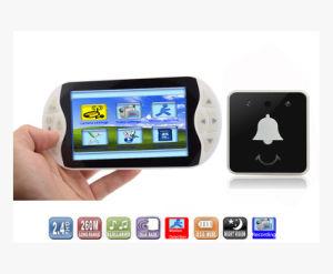 3.5inch LCD 2.4GHzの無線モニタ+無線視覚ドアベル