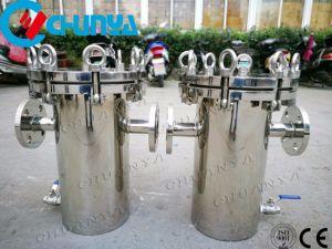 Panier de poli en acier inoxydable de type boîtier de filtre