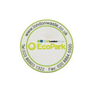 Индивидуальный логотип 2D мягкий ПВХ для приготовления чая и кофе чашку Coaster