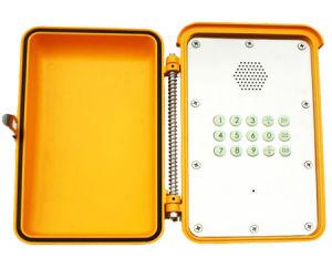 De weerbestendige Op zwaar werk berekende Telefoon van de Intercom van de Telefoon VoIP voor de Exploratie van de Olie