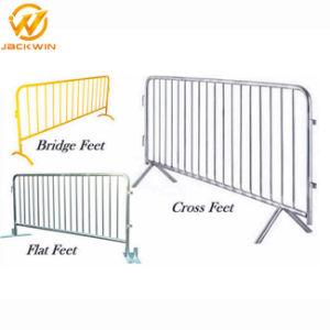 Las barreras de seguridad del tráfico galvanizado Personalizar las barreras de control de multitudes