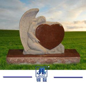 De aangepaste Snijdende Rode Grafsteen/de Grafsteen/het Monument van het Graniet voor Cemetry en Gedenkteken