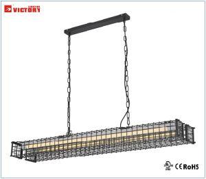 良質産業型の黒の金属の低下の吊り下げ式の照明