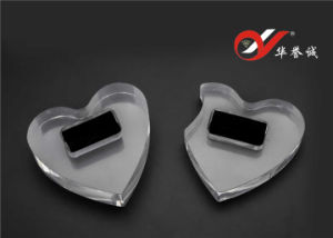 2 Pieces/set Creative Heart Shaped acrylic of ring display