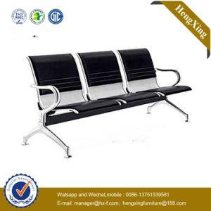 クロム金属の3シート空港公共領域の控室の椅子(NS-PA69)