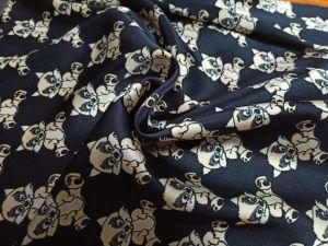 Impressão Digital personalizada de fábrica Acetinado de tecido de seda pura