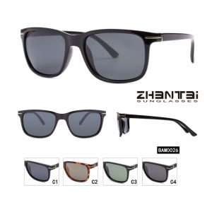11ac21ca46677 Banheira de vender moda próprio logotipo personalizado de óculos  polarizados homens (BAM0026)