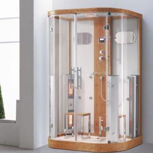 El doble de sauna, ducha de vapor de infrarrojos (K015)