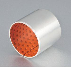 Rolamento de um Du a bucha de aço carbono ou aço inoxidável bucha com casquilho de Teflon PTFE