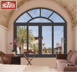 Cayoe 건축 호주 표준 As2047 열 틈에 의하여 이중 유리로 끼워지는 가져오기 알루미늄 여닫이 창 Windows