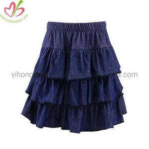 35a2b65be Color sólido Venta caliente Jean pastel falda para niñas – Color ...