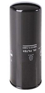 Sistema de lubricación de Komatsu Filtro de aceite (600-211-1231)