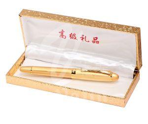 Meilleur cadeau de la fontaine de promotion et de Stylo en métal avec boîte d'or