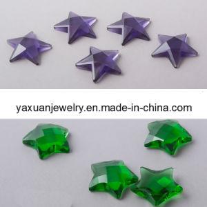 Limpiar las piedras de resina de la estrella de la prenda montaje