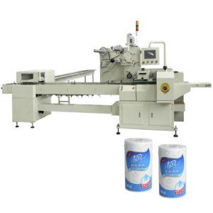 Cocina empaque termoencogible de envolver el paquete de papel la máquina