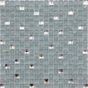 Tuiles de mosaïque en verre de craquement de glace