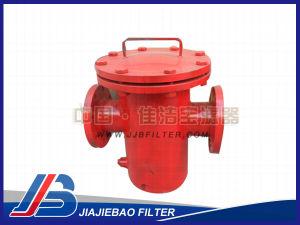 Filtrare del cestino dell'acciaio inossidabile Dn100 diritto attraverso tipo
