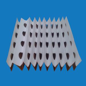 Покраска фильтровальной бумаги