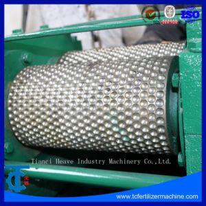 Forma de óvalo de la máquina de extrusión Granulator fertilizante NPK
