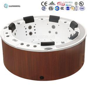 تصميم [إيوروبن] مستديرة برمة منتجع مياه استشفائيّة تغطيات مع بلبوّا نظامة
