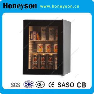 Mini réfrigérateur avec porte vitrée simple