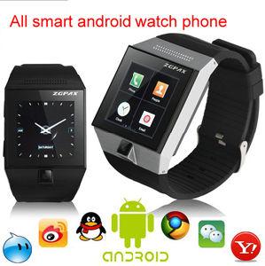 2014 intelligenter Uhr-Telefon Bluetooth S5 Android 4.0 Iradish GPS Verfolger WiFi FM Radio für iPhone/Samsung androides Telefon (S5)