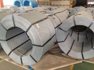 Filo d'acciaio galvanizzato caldo per costruzione