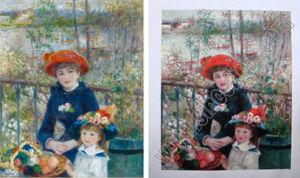 Покраска Impressionism размножения документов