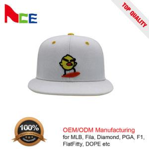 OEMの高品質の平らな刺繍が付いている昇進のかわいい狂気の鳥の急な回復の帽子